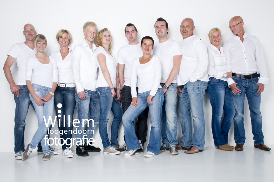 portretfotograaf familieportret groepsfoto 