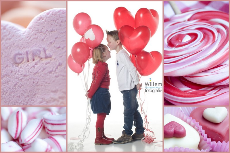 kinderportret kinderfotografie loveshoot fotosessie valentijn balonnen fotograaf Woerden Willem Hoogendoorn Fotografie