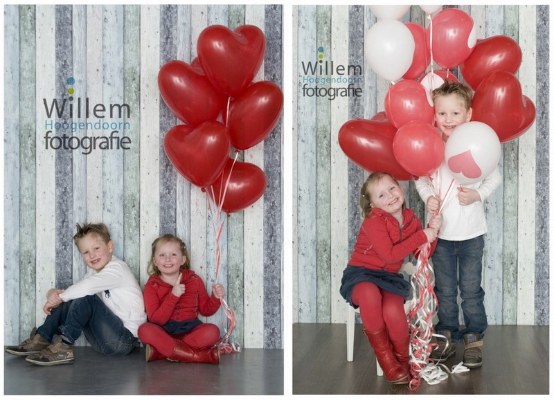 kinderportret fotosessie kinderen ballonnen kleurig fotograaf Woerden Willem Hoogendoorn Fotografie